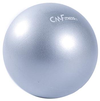 CM Fitness Pelota Pilates Antideslizante - 23cm (Gris): Amazon.es ...