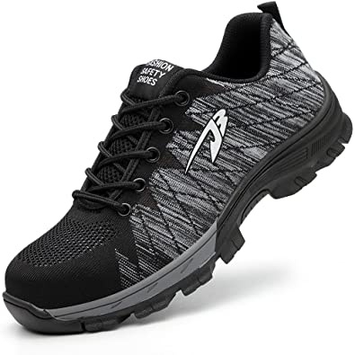 Amazon.com  ESDY Steel Toe Shoes Men 540a8635545