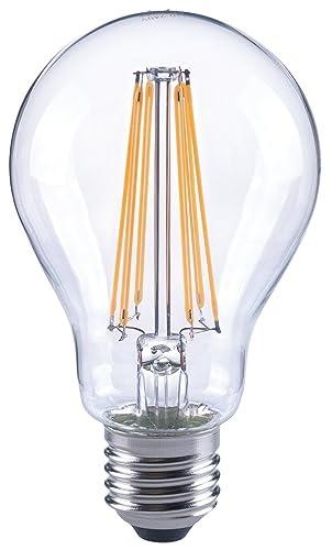 Bombilla LED A67, E27, 12 W, 1521 lm, transparente