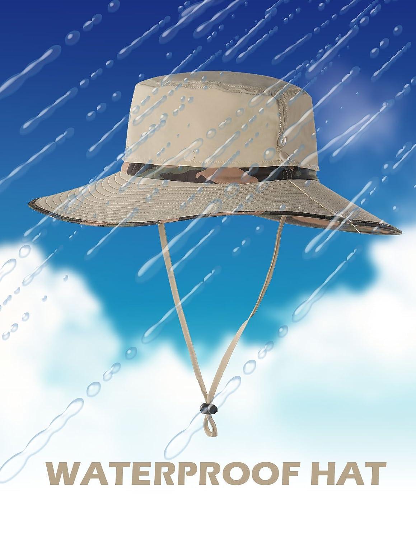 Amazon.com   Feeker Waterproof Outdoor Wide Brim Sun Hat 55184b47874e