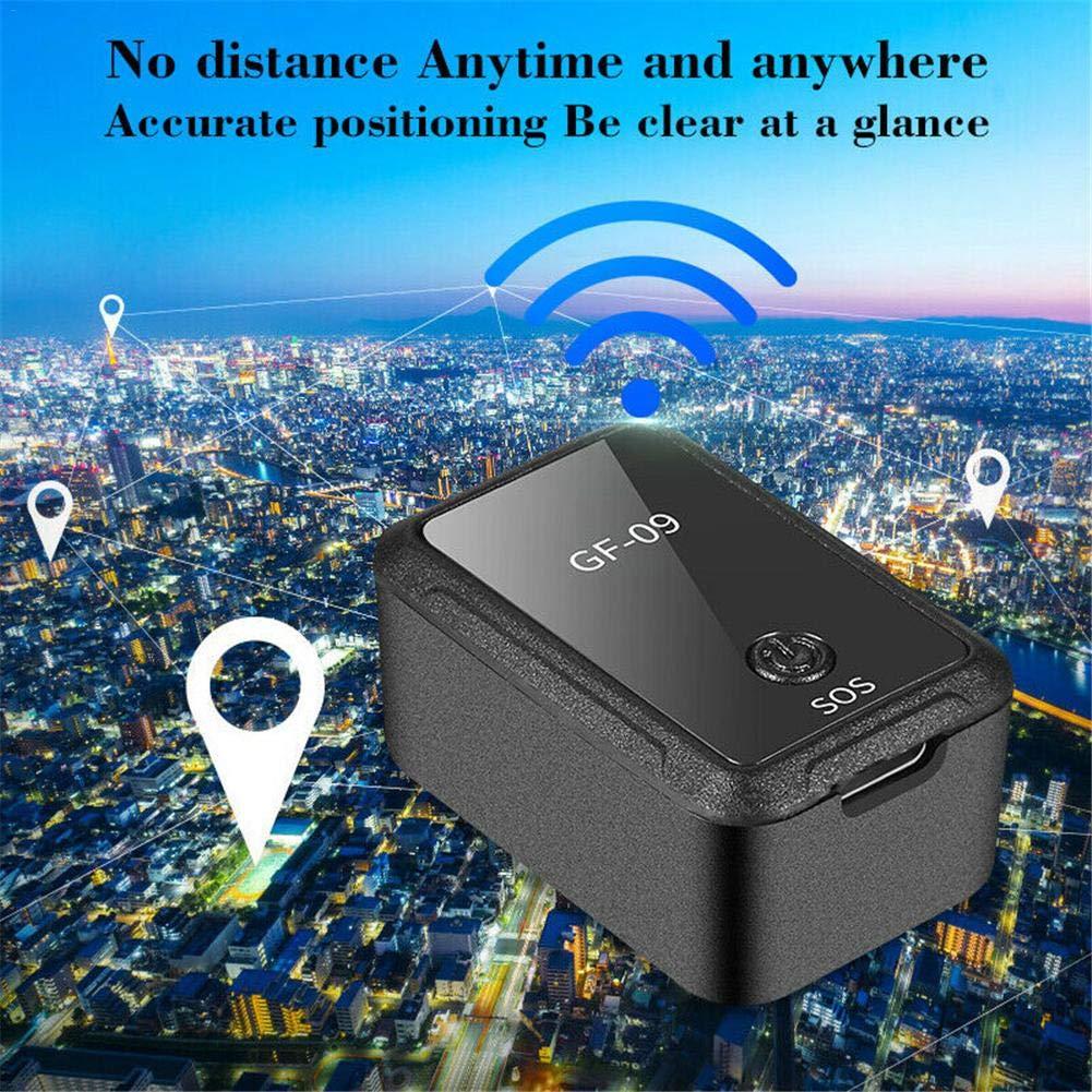 Mini GPS Tracker APP Control GF-09 Localizador de dispositivos antirrobo Grabadora de voz magn/ética Gps Tracker Triple Cut Tarjeta Sim