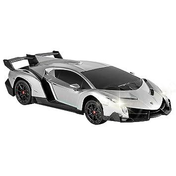 qun feng electric rc car lamborghini veneno radio remote control vehicle sport racing hobby grade