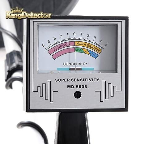 kingdetector md-5008 Professional Detector De Metal Dorado Palpador Tesoro Detector de caza: Amazon.es: Hogar