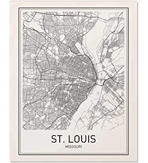 St Louis Neighborhood Map on