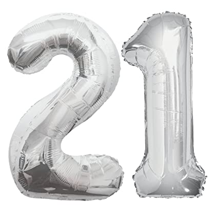 Image Unavailable Not Available For Color 21st Birthday Balloon
