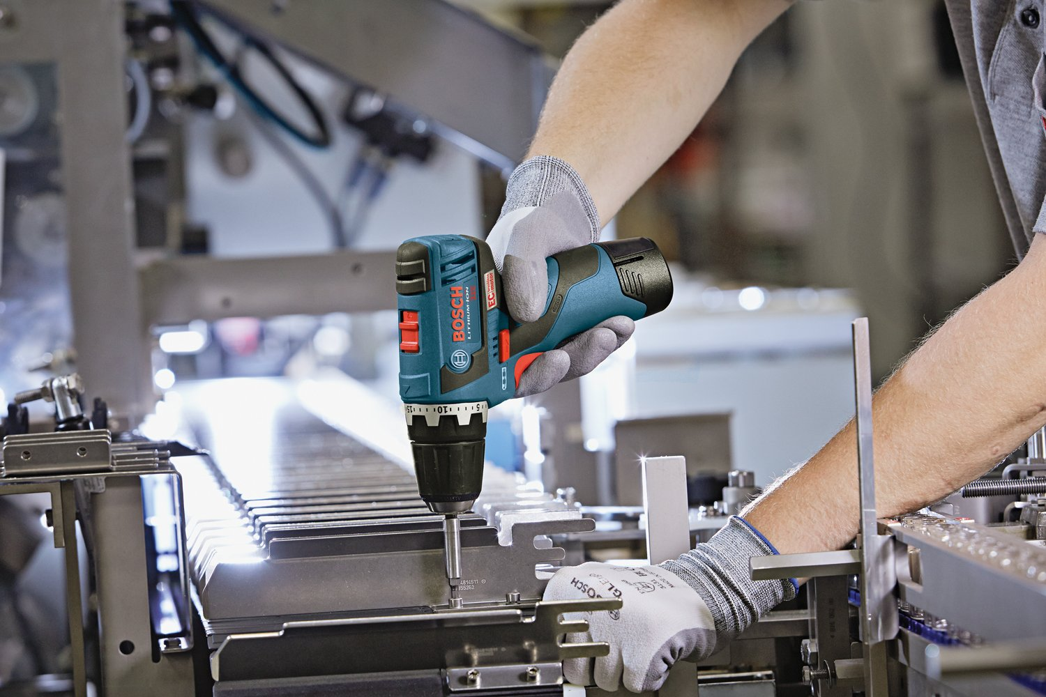 Bosch PS32BN Bare-Tool 12-volt Max Brushless 3/8-Inch Drill/Driver with Insert Tray for L-Boxx by Bosch (Image #2)
