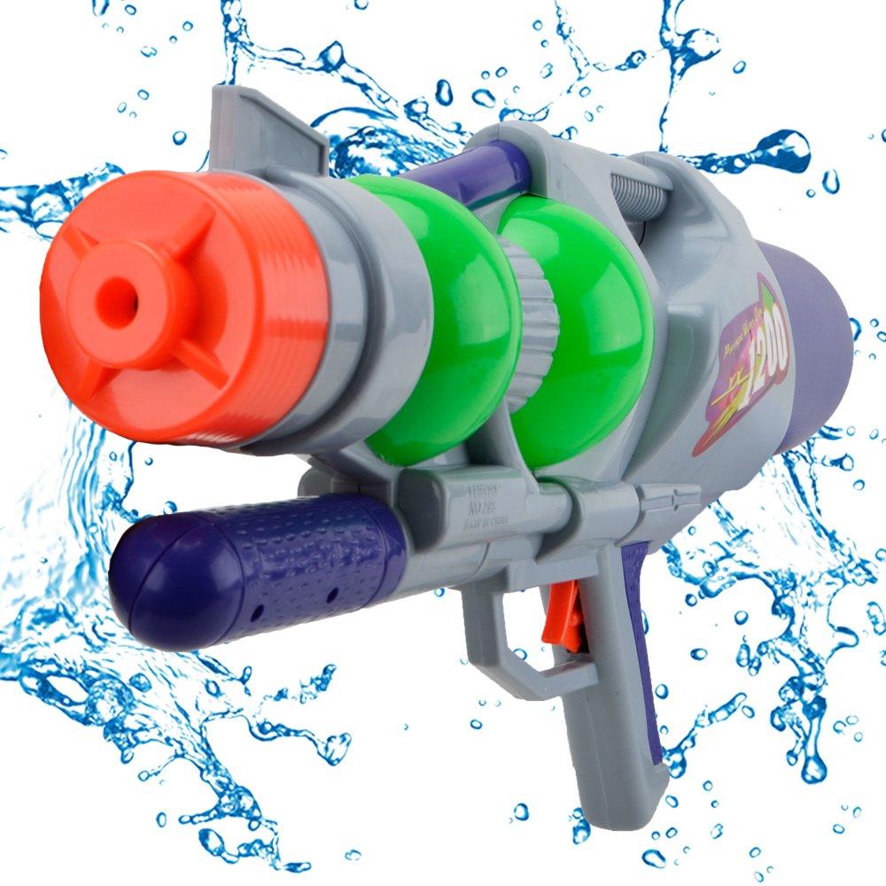Wishtime 50, 8cm Gun super Aqua Blaster SOKER1500ML capacità Summer Beach Toys Water Squirt pistola giochi all' aperto per bambini e adulti Hanji Water Gun