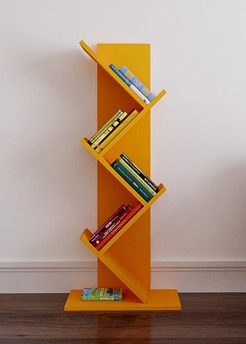 Homidea Estantería de pie para Libros, diseño Moderno, con ...