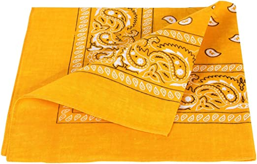 Alsino - Bandana de algodón de alta calidad, 100 % algodón, 54 x 54 cm: Amazon.es: Hogar