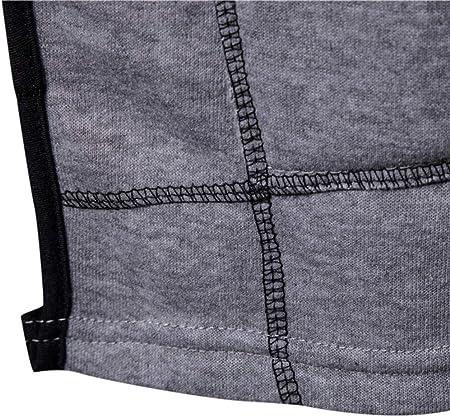 JiaMeng Ropa de Abrigo para Hombre, Invierno Hombres Chaqueta con Capucha sólida de la Chaqueta de la Capa de la Trinchera de la Moda Manga Larga