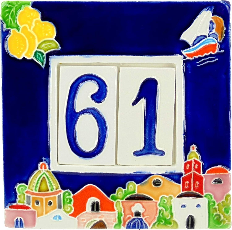 Les couleurs des personnes entre une photo de Lannonce et la pierre qui augmentera /à domicile qui seront diff/érentes couleur /à la m Cadre en ceramica.piastrelle num/éros de maison Num/éro de rue Brique posti.Attenzione 2