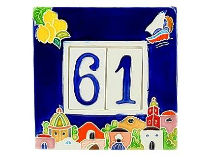 Numeri Civici In Ceramica.Fd Bolletta Arredamento E Illuminazione Numeri Civici In Ceramica Con Numeri E Lettere Da Collocare Nell Apposita Cornice Targa Con Civici E