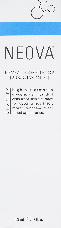 NEOVA Reveal Exfoliator, 20 Glycolic, 2.0 Fl Oz