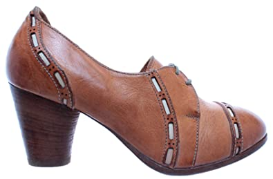 4227c4258d7a24 MOMA Chaussures Femmes Escarpins Nappa Lux Bone Cuir Beige Vintage Made in  Italy