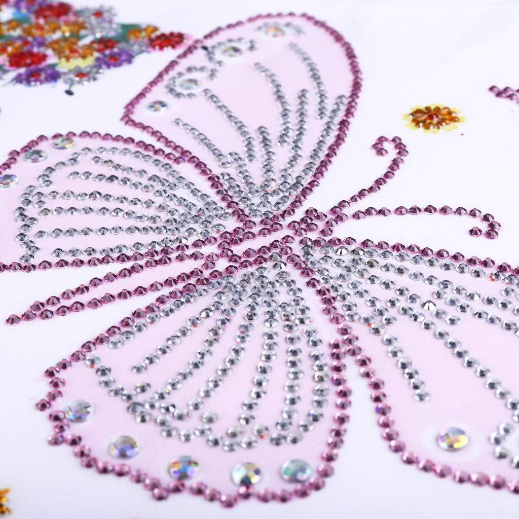 cuadros 5d diamante Diamondo 5D DIY taladro completo pintura diamante hada de dibujos animados punto de cruz bordado