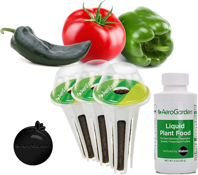 AeroGarden Tomato & Pepper Variety Seed Pod Kit