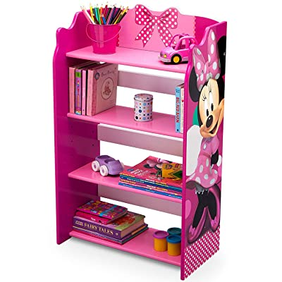 Disney Minnie Mouse 4 Shelves Storage Bookshelf: Baby