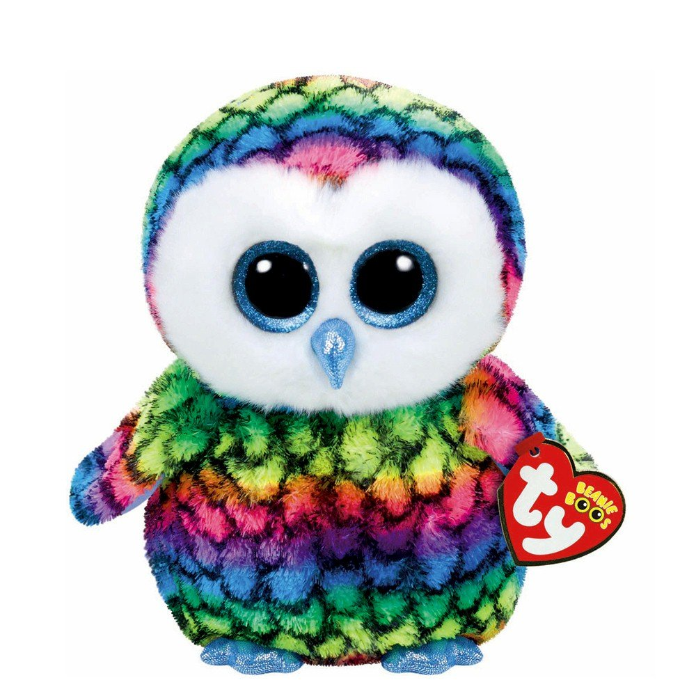 19bc39b2476 Amazon.com  Ty Beanie Boos Aria - Owl Medium (Claire s Exclusive)  Beauty
