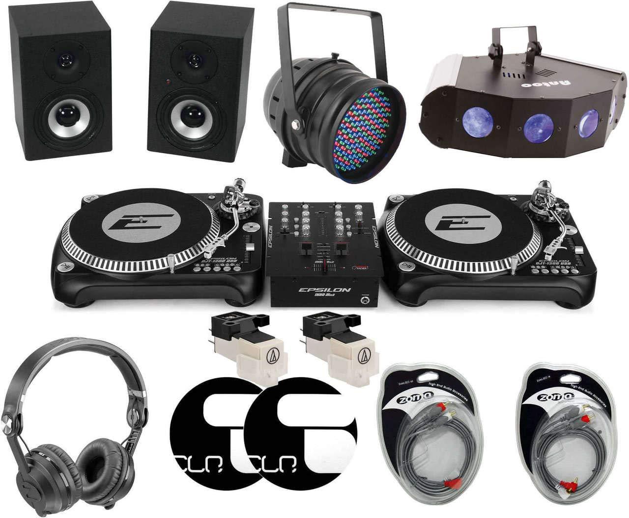 Recor DCase vinilo de DJ Starter Set Plus: Amazon.es ...