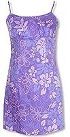 Monstera Garden Women's Empire Slip Cotton Sundress
