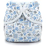 Thirsties Snap Duo Wrap, Ocean Life, Size One (6-18 Lbs)