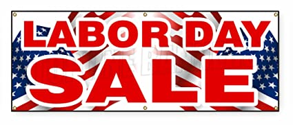 Amazon Com 1 5 Ft X 4 Ft Labor Day Sale Banner Sign September