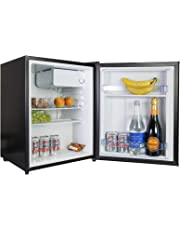 iceQ 70 Litre Compact Counter Top Table Mini Drinks Fridge In Black A* Rated