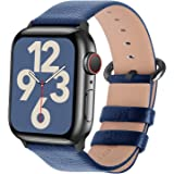 Fullmosa Compatible Apple Watch Band 42mm 44mm 40mm 38mm Leather Compatible iWatch Band/Strap Compatible Apple Watch SE & Ser