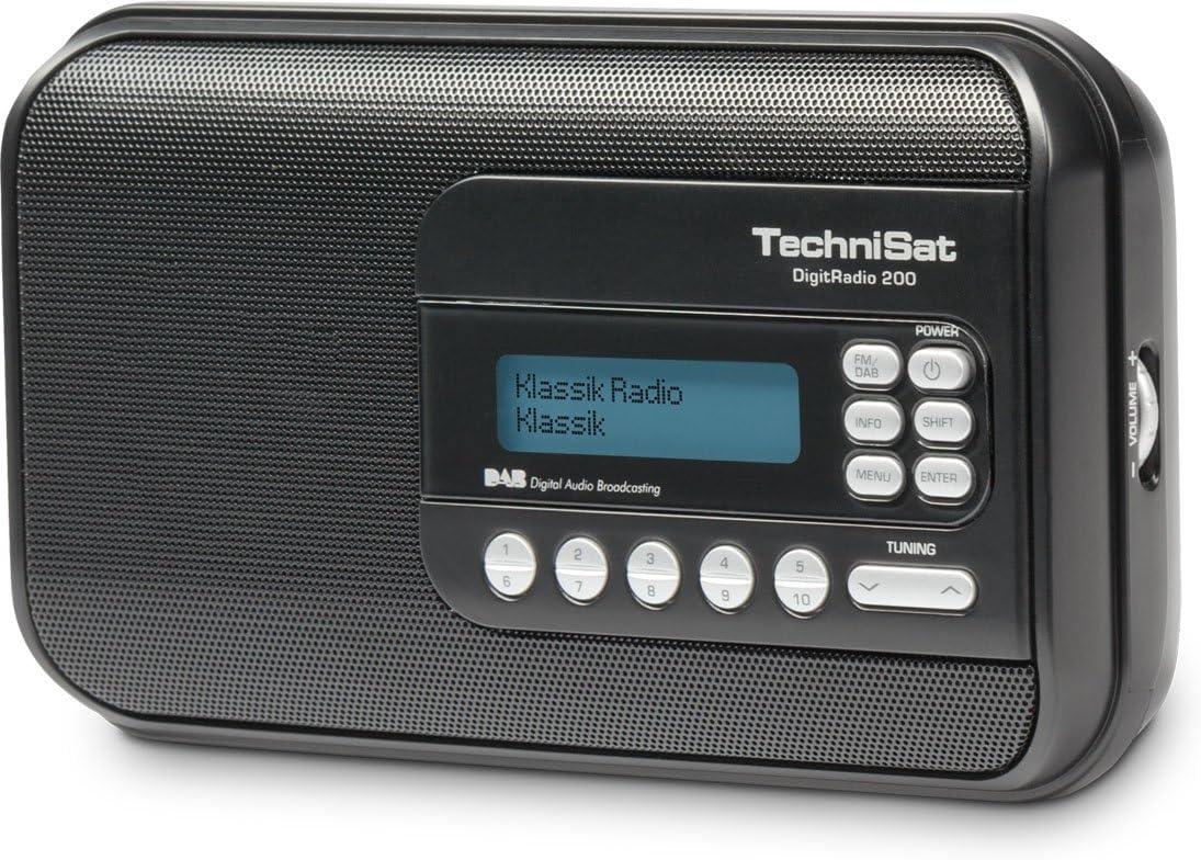 TechniSat DigitRadio 18 - Radio portátil (sintonizador de DAB+