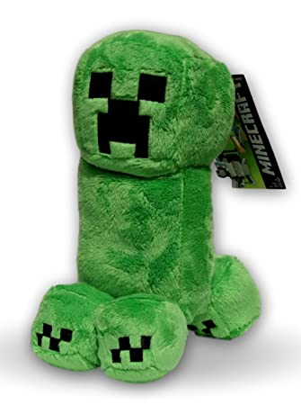 Creeper 28cm Muñeco Peluche Minecraft de Alta Calidad Videojuego Construcción Juego Criatura Hostil Verde PlayStation