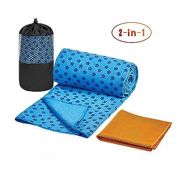 Yoga Towel Unique Pattern Workout Fitness Pad Non-slip Microfiber Comfort Mat