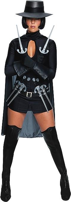 Desconocido Disfraz de V de Vendetta para mujer: Amazon.es ...