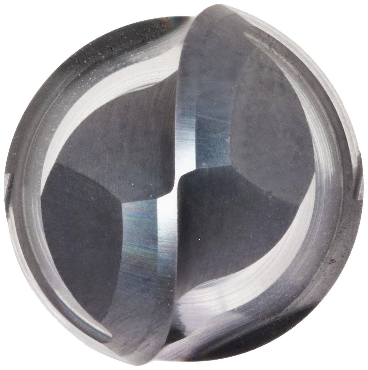 Melin Tool AMGS-B Carbide Micro Ball Nose End Mill 1.5000 Overall Length 30 Deg Helix 0.0190 Cutting Diameter 0.125 Shank Diameter 2 Flutes AlTiN Monolayer Finish