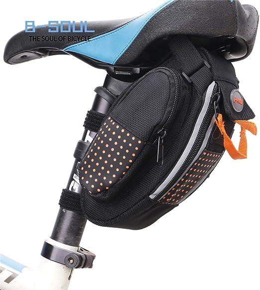 Bolsa de Sillín de Bicicleta Bolsa de bicicleta Bolsa de sillín Bolsa de asiento para bolsa