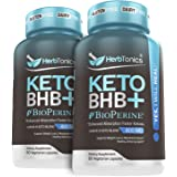 High Strength Keto Bhb Diet Pills with Bioperine for Enhanced Absorption (2 Pack) Vegan Capsules Keto bhb Supplement for…