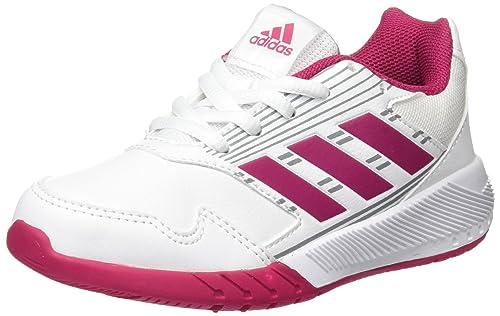 Adidas Altarun K, Zapatillas de Deporte Unisex Niño, Blanco (Ftwbla/Rosfue/
