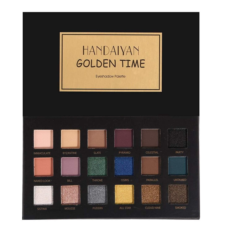 Paleta de sombra de ojos de 18 colores, de la marca POWBBATT ...