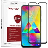 OMOTON Samsung Galaxy M20 Screen Protector,Samsung Galaxy M20 Tempered Glass Screen Protector with [HD Definition] [9H Hardness] [Anti-Scratch][Bubble Free] [Black]