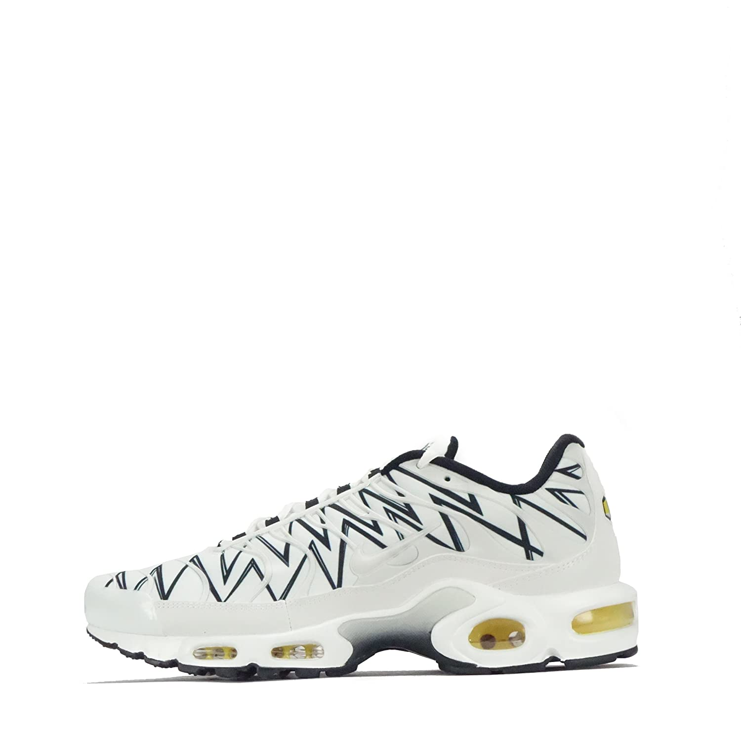 Nike Air MAX Plus, Zapatillas de Running para Hombre 43 EU|Blanco (White / Black 100)