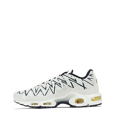 | Nike Men's Air Max Plus WhiteWhiteBlack Nylon