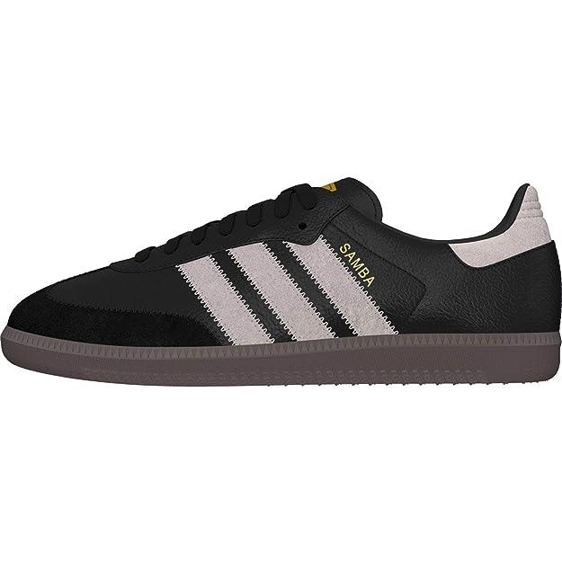 adidas Samba OG Herren Sneaker Schwarz Grau Schuhe: Amazon