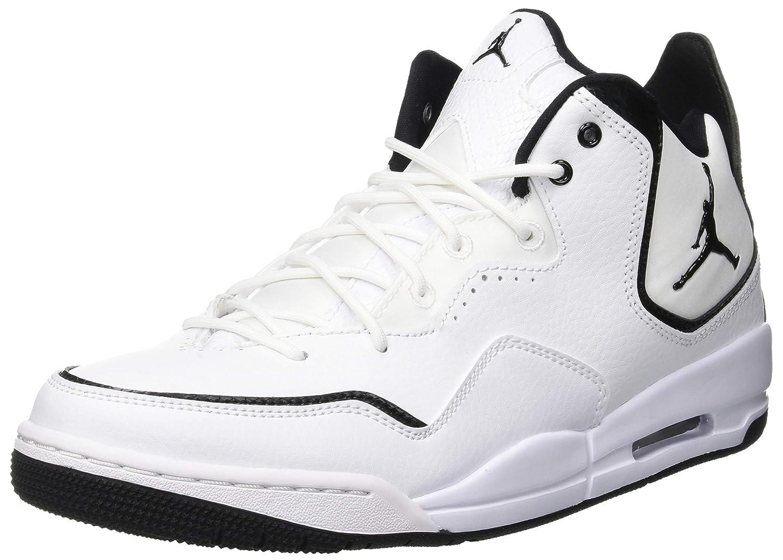 Nike Jordan Courtside 23, Zapatos de Baloncesto para Hombre 45.5 EU|Blanco (White/Black/Black 100)