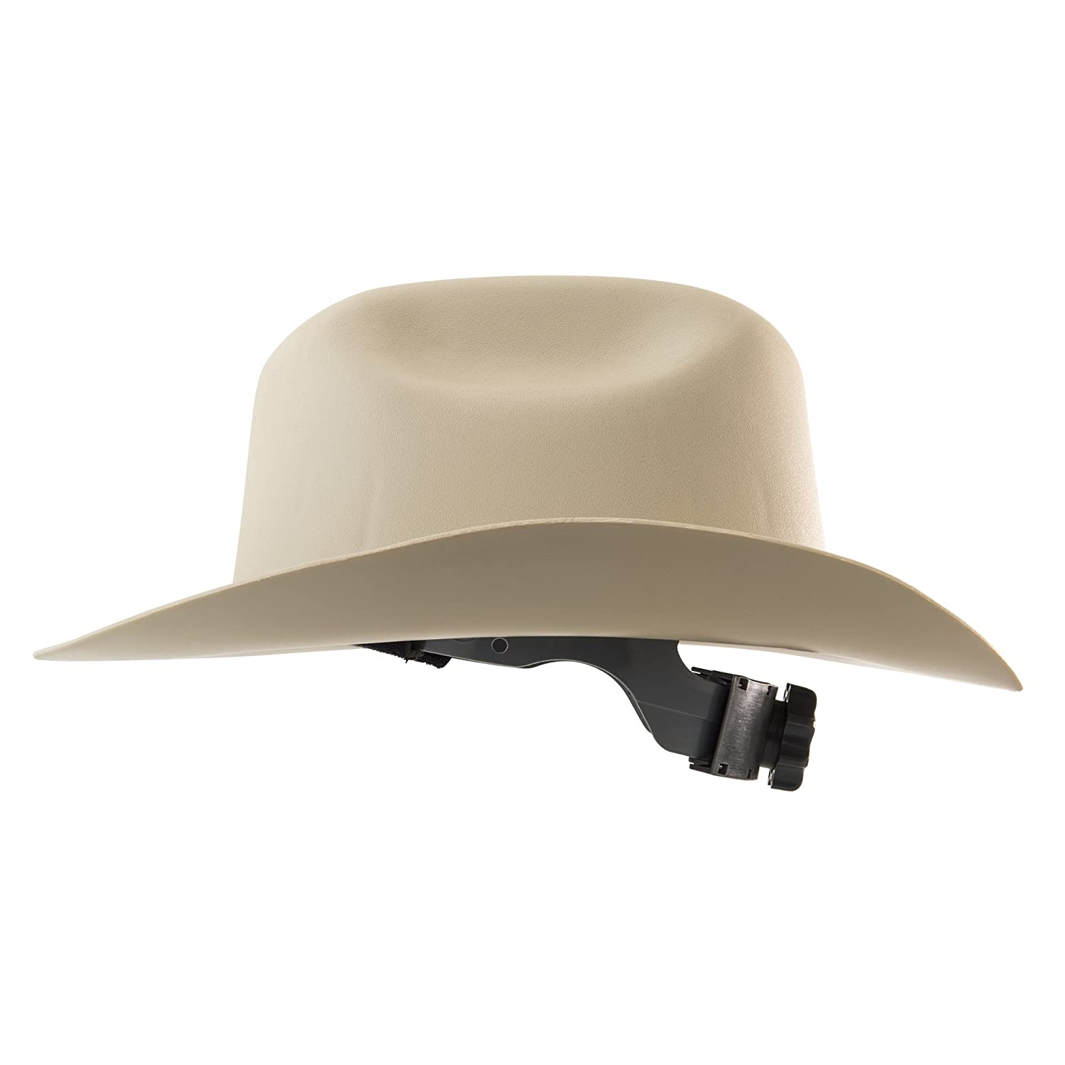 Jackson Safety Western Outlaw Hard Hat (19502), Wide 360-Degree Brim, 4-Pt. Ratchet Suspension, Tan, 4 Hats/Case: Hardhats: Amazon.com: Industrial & ...