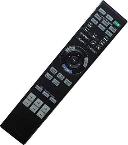 TeKswamp Video Projector Remote Control for Sony VPL-CS5 White