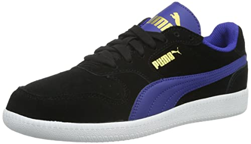 UK Shoes Store - Puma Trainer Icra SD low Sneakers Unisex Black - Schwarz (black-white 14)