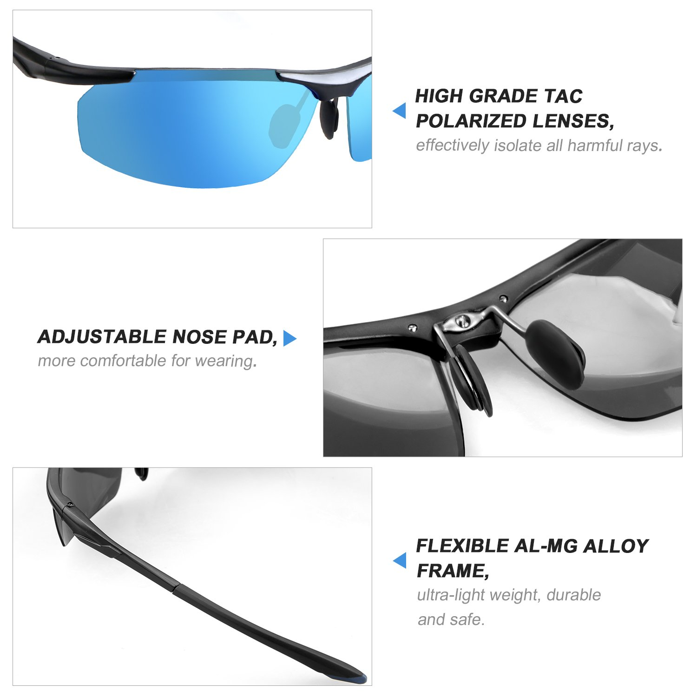 2be4a2d302f Zhara Sports Polarized Sunglasses
