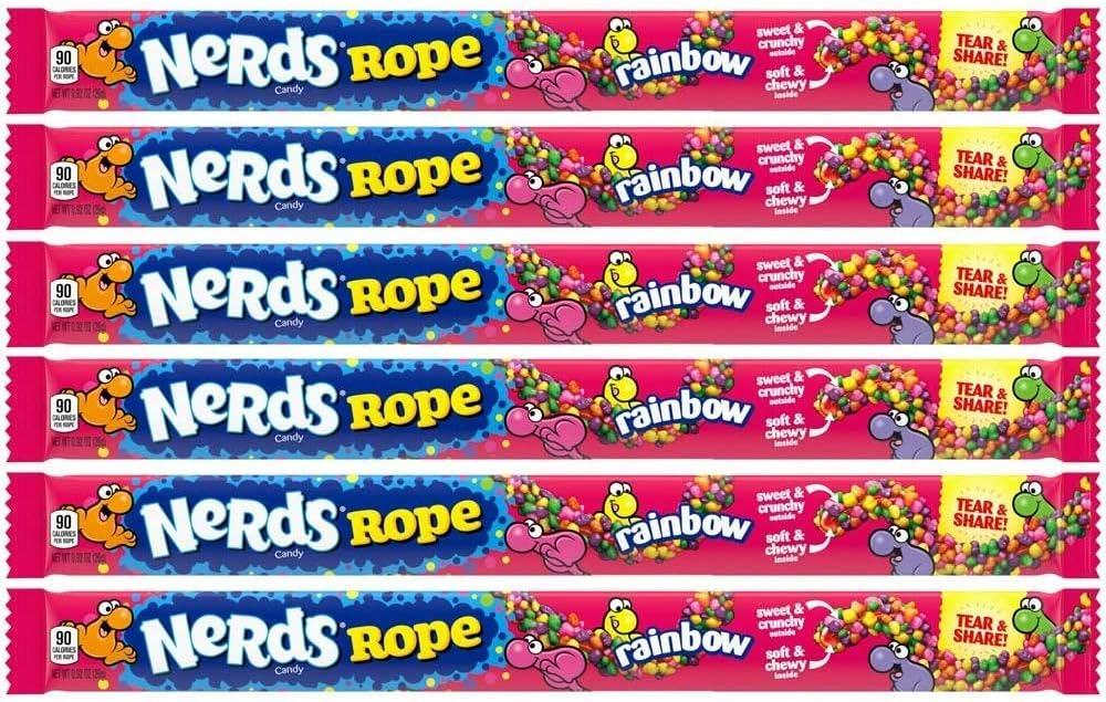 Wonka Rainbow Nerds Rope (pack of 6): Amazon.es: Alimentación y bebidas