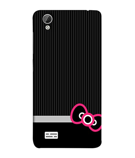 detailed look 3211c e7f4a VIVo Y31, VIVo Y31L Back Cover Black Funky With: Amazon.in: Electronics