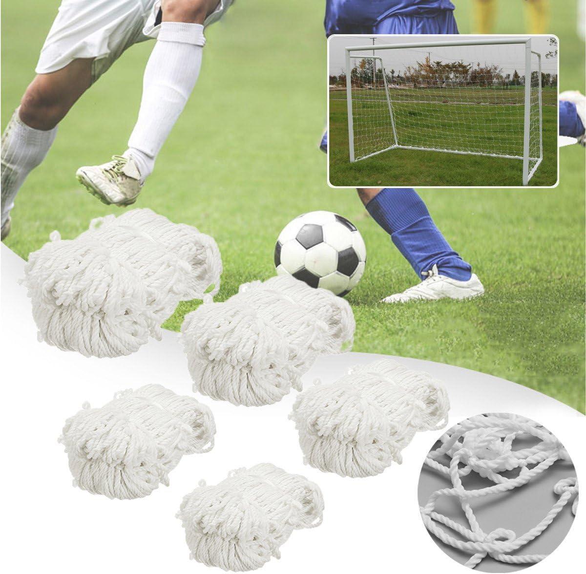 8x6 FT Full Size Football Soccer Goal Post Net For Outdoor Sports Training