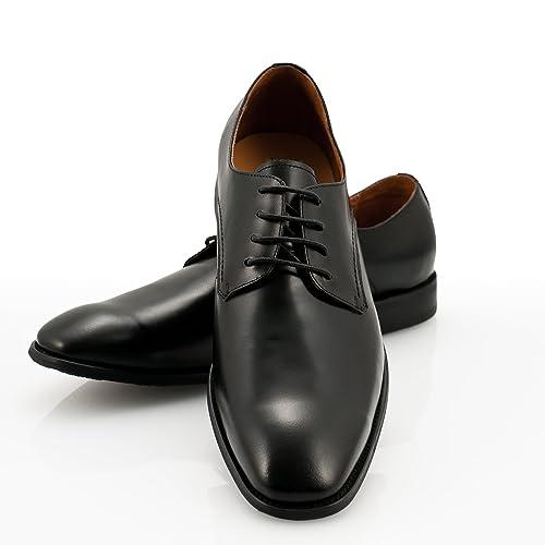 sneakers for cheap 67b30 c3d19 cromberry Navon Executive Edition - Schwarze Herren Business BZW.  Management Leder Halb Schuhe